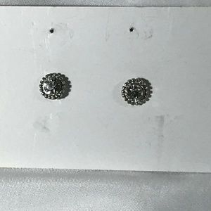 IMITATION DIAMOND STUD EARRINGS